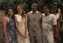 Destination Wedding of Dr Katy to Dr Shivanth
